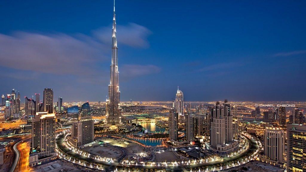 Hình ảnh tòa nhà cao nhất thế giới Burj Khalifa tại Dubai