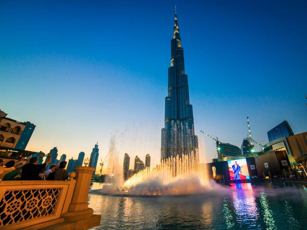 Đứng trên tòa nhà này, du khách có thể ngắm nhìn thành phố Dubai xinh đẹp