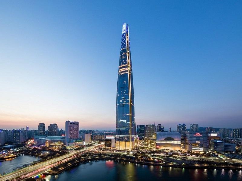 Tòa nhà cao nhất Hàn Quốc bao nhiêu tầng